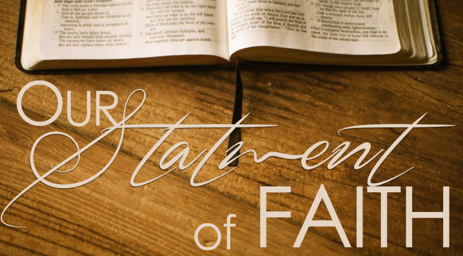 Statement Of Faith – Greater Ridley Temple COGIC
